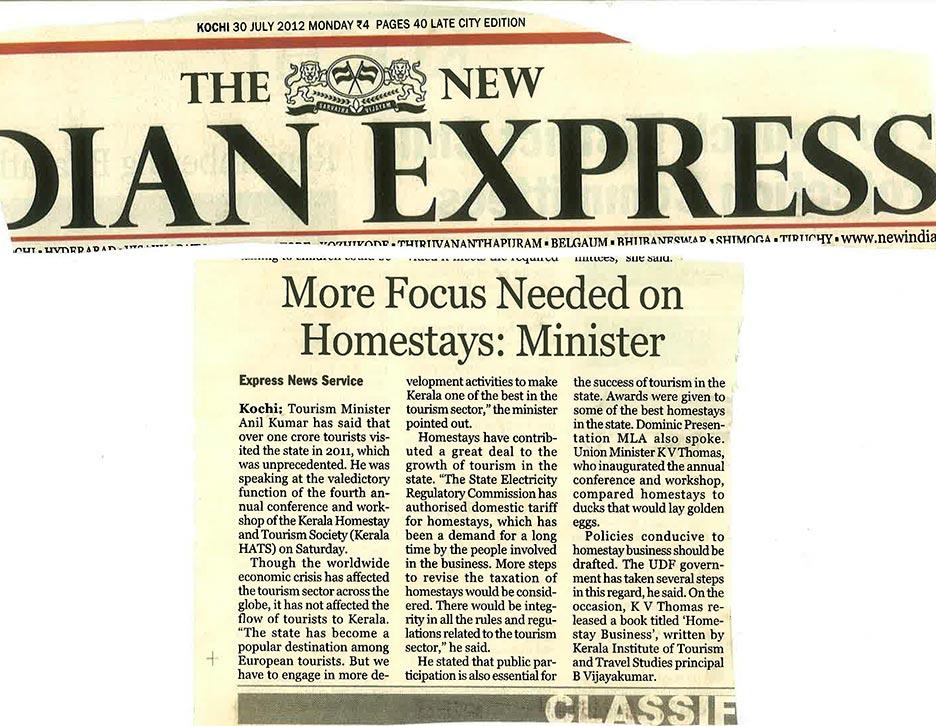 Indian Express – 2012